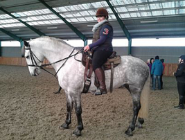 Mel at Horseboy method training